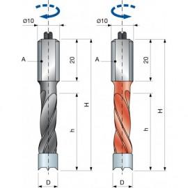 PF07M Tiplifúrók zsákfuratokhoz