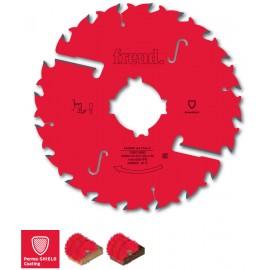 LM02 Mehrfachsägeblätter mit reduzierter schnittbreite und räumern