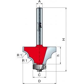 38- Frezy z podwójnym kształtem wałkowe