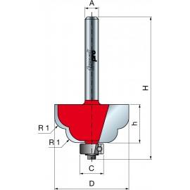 38- Frezy z podwójnym kształtem do żłobień