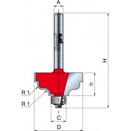 38- Frezy z podwójnym kształtem do esownic