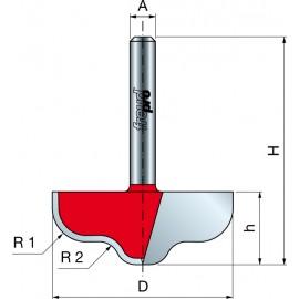 39- Frezy z podwójnym kształtem do żłobień i wałków