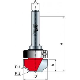 39- Tauchprofilfräser mit Schaft-Anlaufring