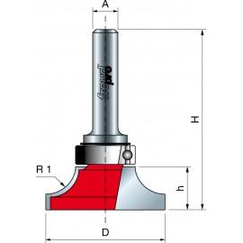 23- Leistenfräser - gedrehter Viertelstab