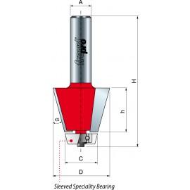 85- Frez do fazowania krawędzi łączącej z elementem podblatowym