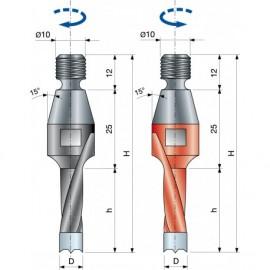 P09MA Vrták kolíkovací se záhlubníkem