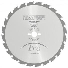 CMT Körfűrészlap építőipari vágásra
